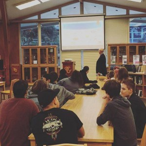 FIT™ was presented in the Pacific Grove HS Library.